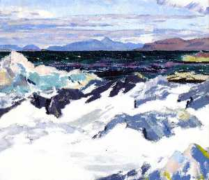 Francis Campbell Boileau Cadell - Insel Rum aus Iona