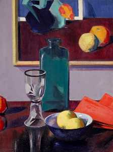 Francis Campbell Boileau Cadell - die grüne flasche