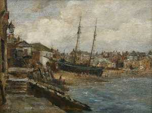 James Herbert Snell - St. Ives hafen